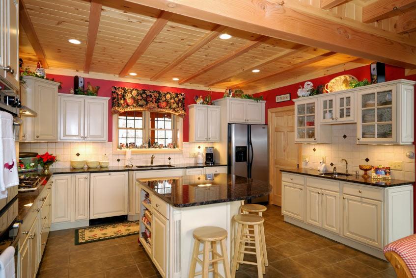Country Kitchen Granite Kitchen   Cincinnati