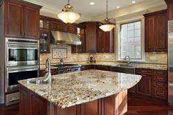 Granite kitchen Granite Makeover